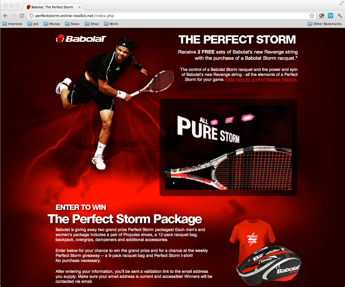 Babolat: The Perfect Storm